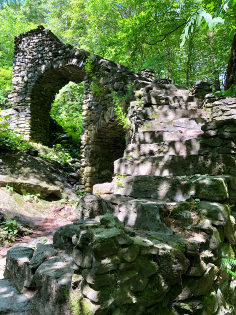 Madame Sherri's Castle - Stairway to Nowhere, Chesterfield NH