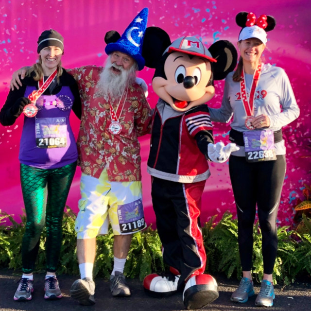 Disney Dopey 10k post-finish wi