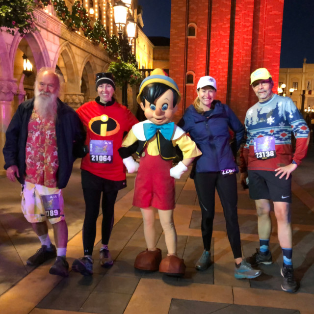 Dawn Patrol and Barry with Pinocchio