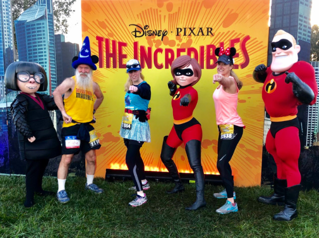 Dawn Patrol with the (other!) Incredibles and Edna Mode