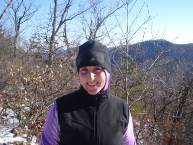 Caren Jew on Massanutten Mountain