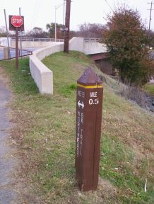 Mile 0.5 of Northeast Branch Trail