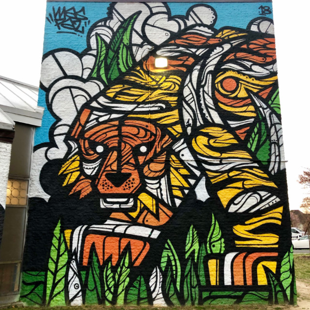 West Education Center mural