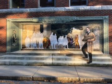Barry Faulkner mural in Keene NH