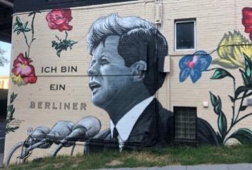 Georgetown mural Kennedy