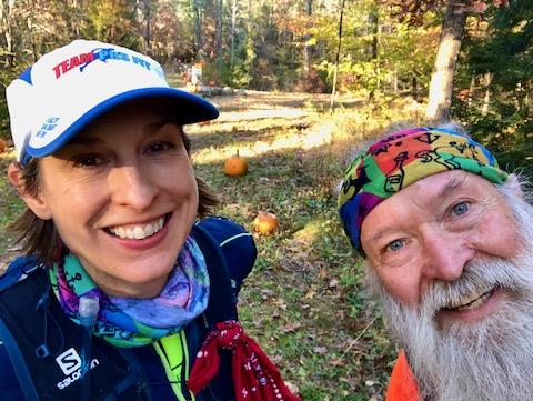 Dr Stephanie Fonda and Mark Zimmermann at the Ghost Train 2019
