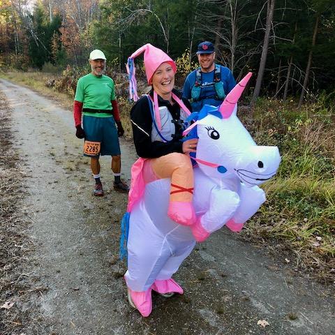 Ghost Train unicorn rider