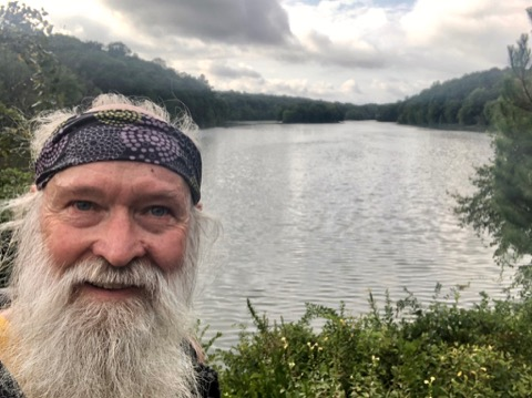 midway through the journey, Lake Needwood