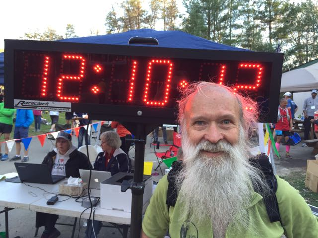BRR 2015 ^z at the finish line a few minutes after crossing it