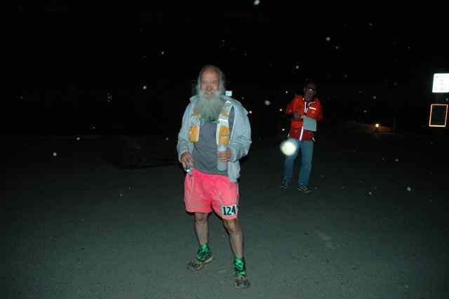 Mark Zimmermann at mile 59 C&O Canal 100