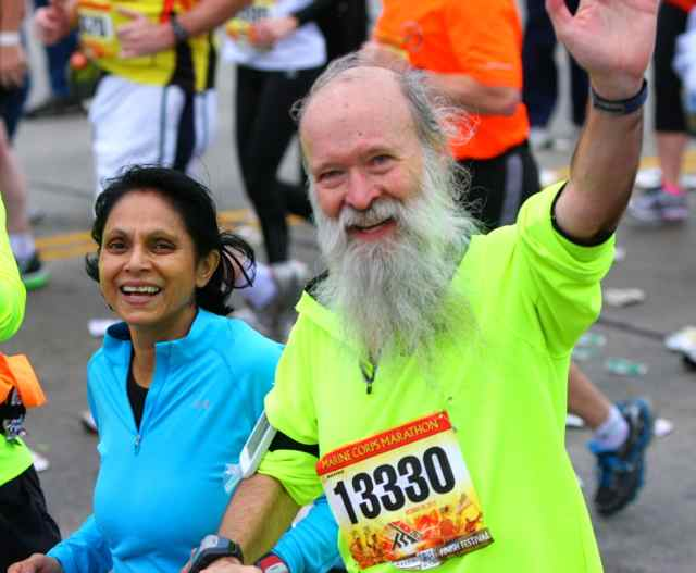 Gayatri Datta and Mark Zimermann at MCM 2012 - photo by Ken Trombatore
