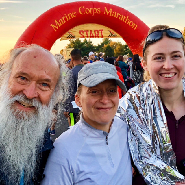 before the start of the MCM 2017, Caitlin and Kristin and ^z
