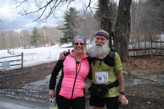 Vermont Runamuck 50k Mary Ewell and Mark Zim