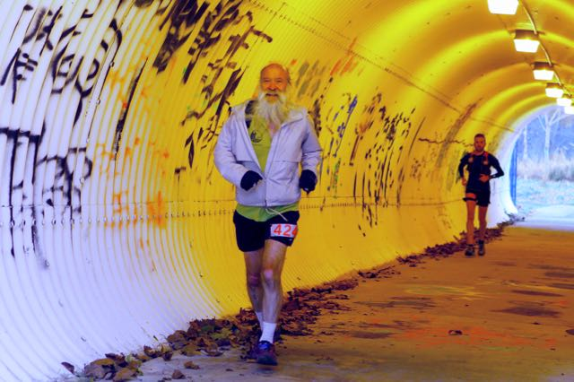 ^z at mile 14 - tunnel under Darnestown Rd - photo by Alex Reichmann - click for higher-resolution version