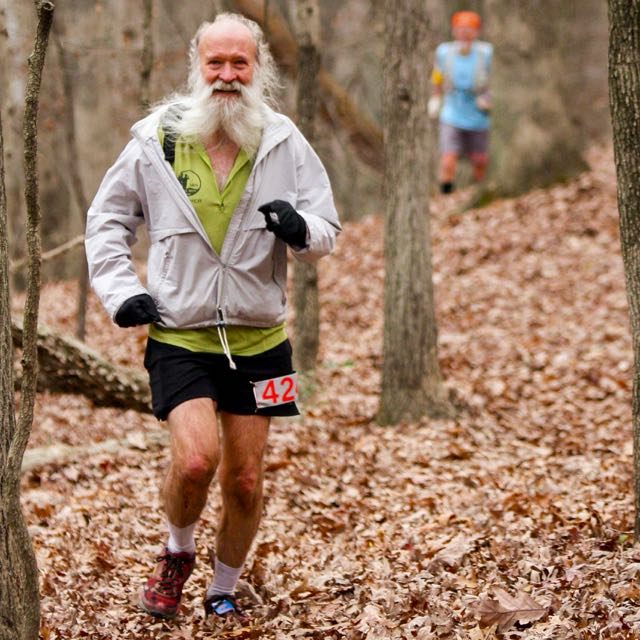 ^z at mile 16 - Muddy Branch Trail near Quince Orchard Rd - photo by Ken Trombatore - click for higher-resolution version
