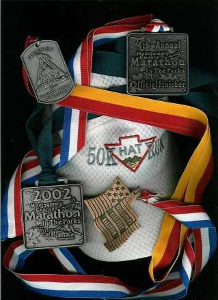 Marathon Medals - click for larger image